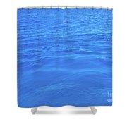 Bahama Blue Shower Curtain by Barbara Von Pagel