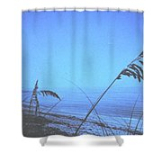 Bahama Blue Shower Curtain