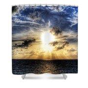 Bahama Sunset By Steve Ellenburg Shower Curtain
