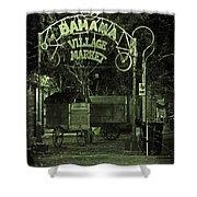 Bahama Village Market Key West Florida Shower Curtain