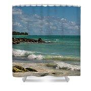 Bahamas Beach Shower Curtain