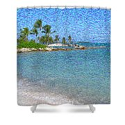 Bahamas II Shower Curtain