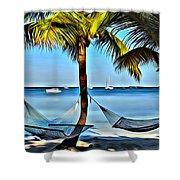 Bahamas Vacation Shower Curtain