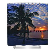 Bahia Honda State Park, Florida Keys Shower Curtain