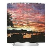 Bahia Inglesa Landscape  Shower Curtain