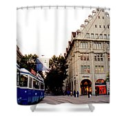 Bahnhofstrasse Zurich Shower Curtain