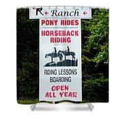 Bailiwick Ranch 5 Shower Curtain
