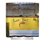 Bait Box Shower Curtain