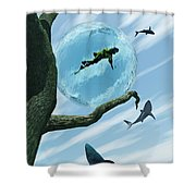 Bait Shower Curtain