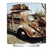 Baja Bug Shower Curtain