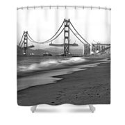 Baker Beach In Sf Shower Curtain