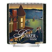 Baker House Endless Sunset Shower Curtain