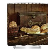 Baking Day - Bread Shower Curtain