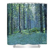 Balaam.thick Of The Forest Shower Curtain