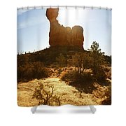 Balancd Rock 3 Shower Curtain