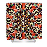 Balance Mandala  Shower Curtain