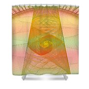 Balance Of Energy Shower Curtain