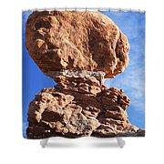 Balanced Rock 2 Shower Curtain