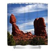 Balanced Rock Arches National Park, Moab, Utah Shower Curtain