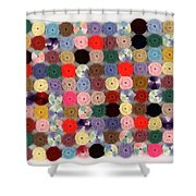 Balbina's Yarn Shower Curtain