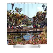Balboa Afternoon Shower Curtain