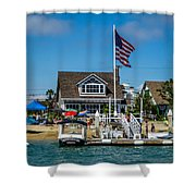 Balboa Baby Shower Curtain
