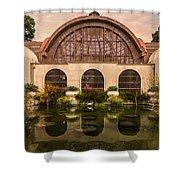 Balboa Park Botanical Building Symmetry Shower Curtain