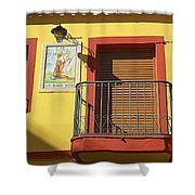 Spanish Balcony Shower Curtain