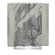 Balcony Railings Shower Curtain