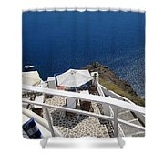 Balcony View Shower Curtain