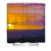 Bald Head Island Study 10 Shower Curtain