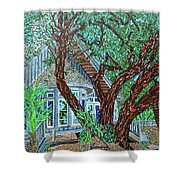 Bald Head Island, Village Chapel Shower Curtain