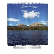 Bald Mountain Shower Curtain