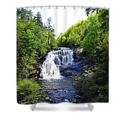 Bald River Falls Swimming Hole 2 Shower Curtain
