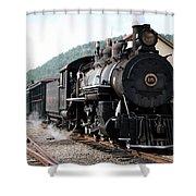 Baldwin Locomotive Number Fifteen Shower Curtain