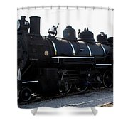 Baldwin Locomotive Shower Curtain