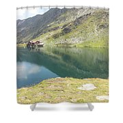Balea Lake Shower Curtain