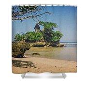 Balekambang Beach Shower Curtain