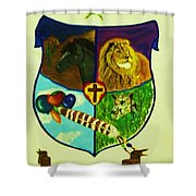 Balestar Crest Shower Curtain