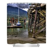 Balfour British Columbia Shower Curtain