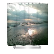 Bali Dusk Shower Curtain