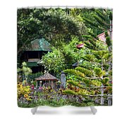 Bali Gardens Shower Curtain