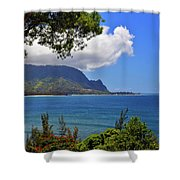 Bali Hai Hawaii Shower Curtain