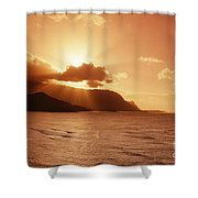 Bali Hai Poin Shower Curtain
