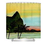 Bali Hi Kauai Shower Curtain