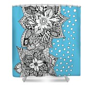 Bali Holiday Shower Curtain