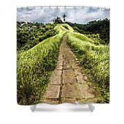 Bali Landscape 4 Shower Curtain
