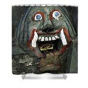 Bali Mask Shower Curtain