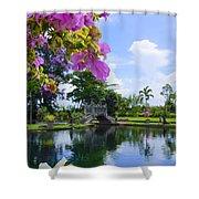 Bali Reflections Shower Curtain