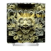 Bali Temple Art Shower Curtain